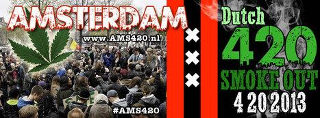 Aankondiging 2e 'Amsterdam 420 Smoke-Out' meeting op 4-20-2013   Cannabis & CoffeeShopNews   Scoop.it