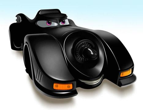 Carros famosos no estilo Pixar | Animated... | Scoop.it