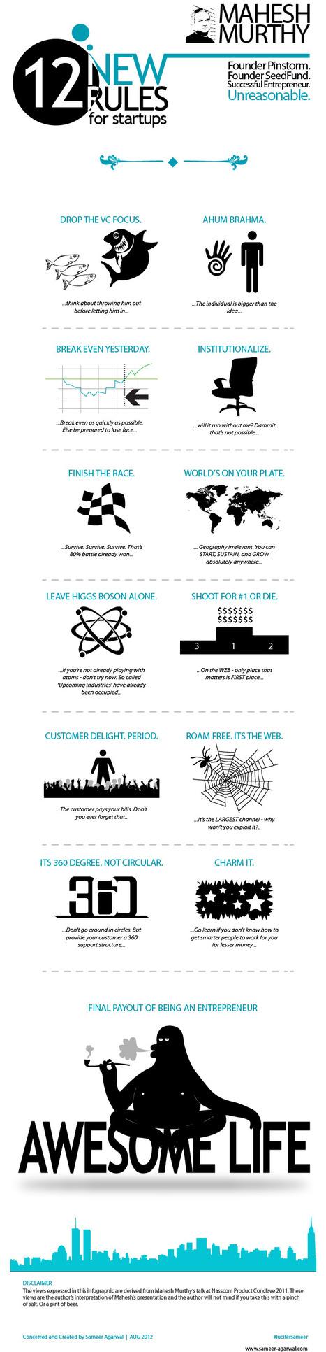 Mahesh Murthy's 12 new rules | Sameer Agarwal | Dorai on Tech & Entrepreneurship | Scoop.it