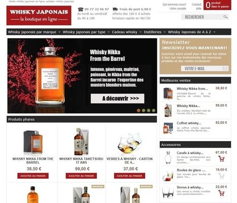 Ouverture de la boutique en ligne du whisky japonais | Whisky | Scoop.it