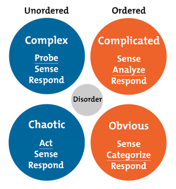 The Cynefin Framework: Using the Most Appropriate Problem-Solving Process | LeadershipABC | Scoop.it