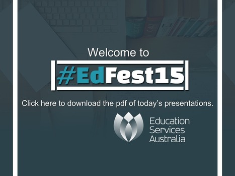 #EdFest15 | Utilising technology in teaching and implementing Australian Curriculum | Scoop.it