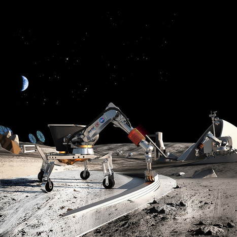 3D printed buildings on the moon! « Ponoko – Blog | BarFabLab | Scoop.it