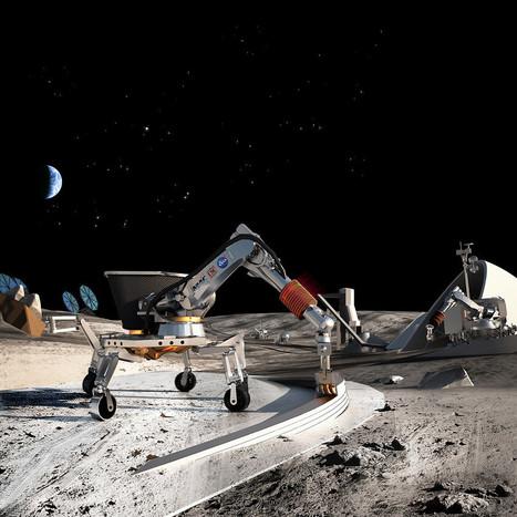 3D printed buildings on the moon! « Ponoko – Blog | FabLabs & Open Design | Scoop.it