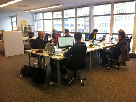 Le coworking, au LOFT, c'est gratuit à partir du 16/12 ! | The Loft ... | télétravail | Scoop.it