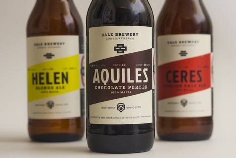 Cale Brewery | Graphic design | Scoop.it