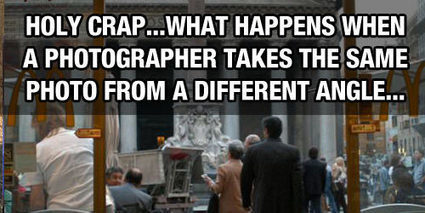 What Happens When A Photographer Takes The Same Photo From A Different Angle | The Geo Feed | Scoop.it