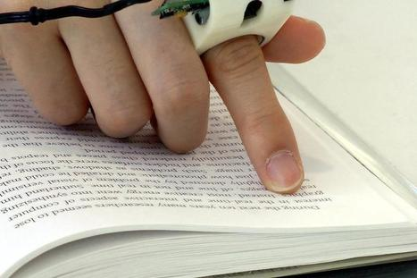 The FingerReader a wearable device that ASSIST in reading printed text. | I didn't know it was impossible.. and I did it :-) - No sabia que era imposible.. y lo hice :-) | Scoop.it
