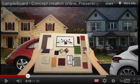 SampleBoard- Digital Mood Board Editor for Creative Industries | Creativity as changing tool | Scoop.it