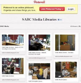SABC Media Libraries on Pinterest | The Information Professional | Scoop.it