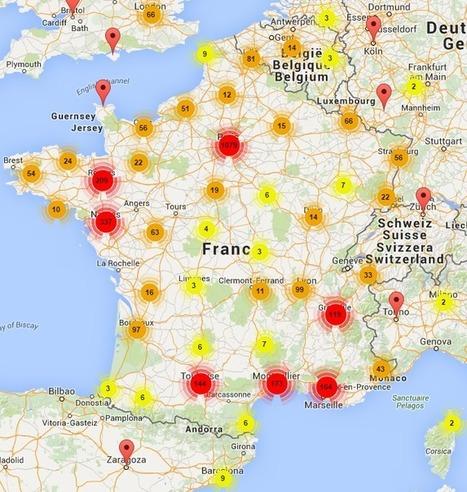 Analyse : les villes labellisées French Tech les plus populaires et les personnes qui en parlent - Blog du Modérateur | Je suis Community Manager | Scoop.it