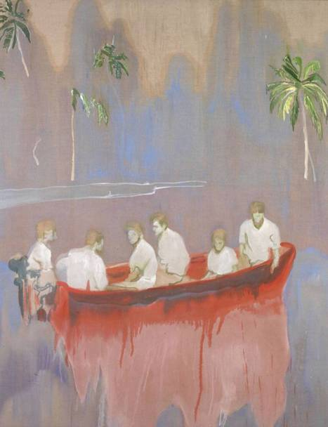 Treasured island: Peter Doig at the Scottish National Gallery - The Independent | abstract art | Scoop.it
