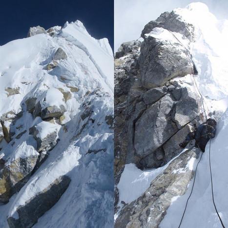 Everest : le ressaut Hillary s'est-il effondré ? | Neige et Granite | Scoop.it