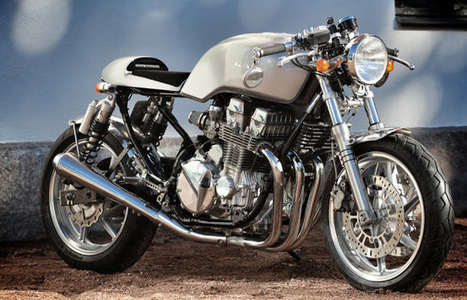 Rewheeled Honda CB750 Cafe Racer | Cafe Racers | Scoop.it
