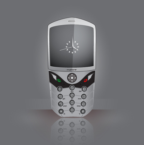 How to create a Realistic Cell Phone | Vectors | Scoop.it