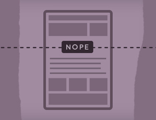 Behold, the Fold | The web is not a desktop | Scoop.it