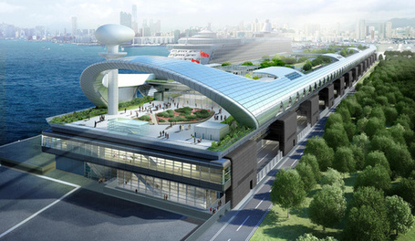 Hong Kong's Old Airport Reborn As Hong Kong's New Cruise Ship Terminal | Collection of First in the World Wide Web | Scoop.it