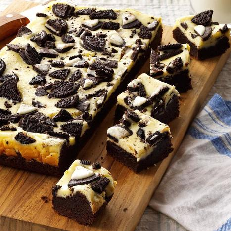 Cookies and Cream Brownie Cheesecake Bars - Kitchen Things | Stuff for the Home | Scoop.it