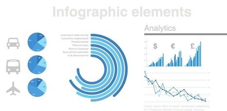 Elementos para Infografías - Vectores Illustrator | Recursos diseño gráfico | Scoop.it