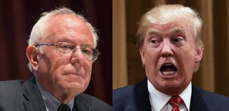 These CEOs Just Called Trump's Bluff by Offering $20 Million for Sanders Debate | Global politics | Scoop.it