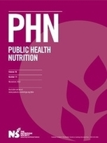 Development of a nutritionally balanced pizza as a functional meal designed to meet published dietary guidelines - Combet &al (2013) - Public Health Nutrition | Food and Health | Scoop.it