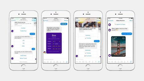 Yahoo Introduces Four New Chatbots For Facebook Messenger - Prime Inspiration | Mobile | Scoop.it