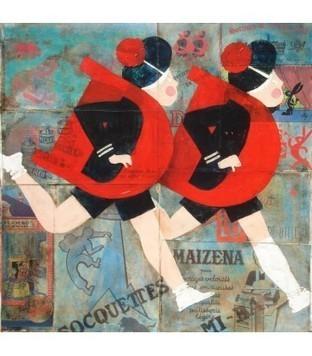 DD socquettes - Yann Kempen - Galerie d'art contemporain le hangART | Tableaux des artistes du hangART | Scoop.it