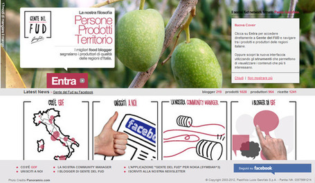 Il social network del gusto - La Repubblica | Food Communication & Marketing | Scoop.it
