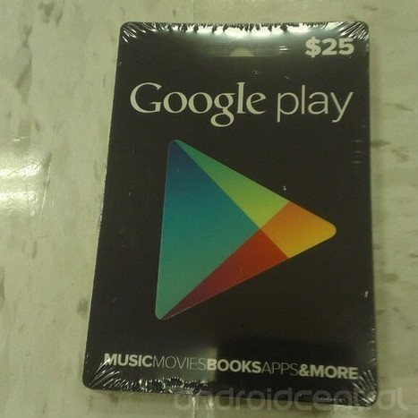 "Google Play gift cards look ready for retail | ""#Google+, +1, Facebook, Twitter, Scoop, Foursquare, Empire Avenue, Klout and more"" 