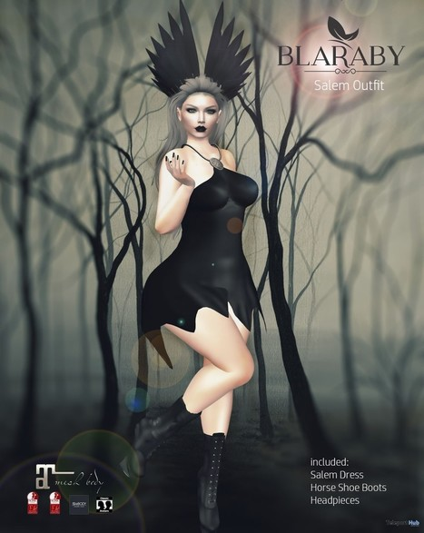 Salem Outfit October 2016 Group Gift by BLARABY | Teleport Hub - Second Life Freebies | Second Life Freebies | Scoop.it