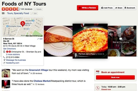 @Yelp Is Getting Into the Tours and Activities Booking Business | ALBERTO CORRERA - QUADRI E DIRIGENTI TURISMO IN ITALIA | Scoop.it