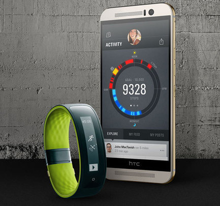 HTC Gets into Activity Trackers with the Grip Fitness Band - Techlicious (blog) | Healthy Living | Scoop.it