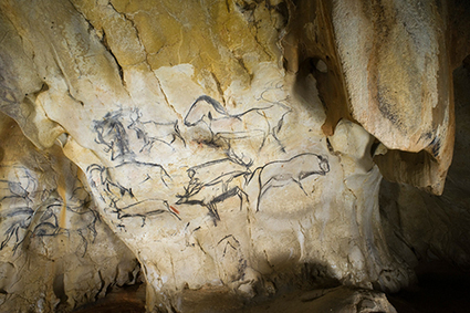 TRACES - Grotte Chauvet-Pont d'Arc : l'histoire reconstituée des passages de l'Homme et de l'ours | Actualité des laboratoires du CNRS en Midi-Pyrénées | Scoop.it
