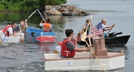 Upcoming Cardboard Boat Races the 'Ultimate Recycling Project' - PotomacLocal.com | Uk Education | Scoop.it