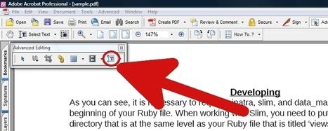 How to Edit a PDF File | TIC y educación | Scoop.it