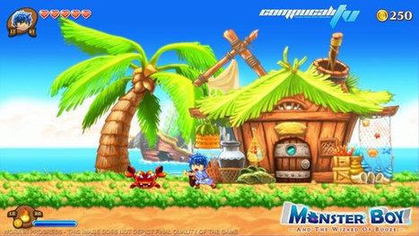 Wonder Boy revive en Monster Boy la secuela | Descargas Juegos y Peliculas | Scoop.it