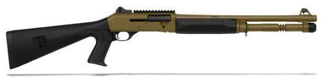 Get Benelli M4 12GA Pistol Grip Dark Earth Shotgun at Best Price | Outdoor Equipment | Scoop.it