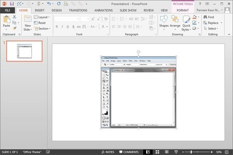 Inserting Screenshots in PowerPoint 2013 | PowerPoint Tutorials | Scoop.it