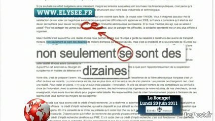 Quand l'Elysée publie sur son site un discours truffé de fautes de français | Mais n'importe quoi ! | Scoop.it