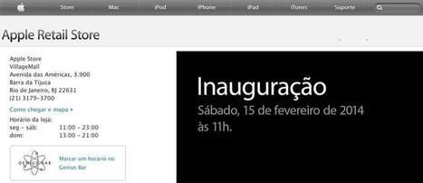 Ya es OFICIAL primera Apple Store en Latinoamérica se abrira el próximo Sábado 15 de Febrero en Rio de Janeiro, Rio de Janeiro  Facebook iSolutions-Corp   Apple   Scoop.it
