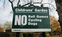Yes, let's get rid of 'no ball games' signs – but it won't solve our problems | Lynsey Hanley | Muswell Hill News | Scoop.it