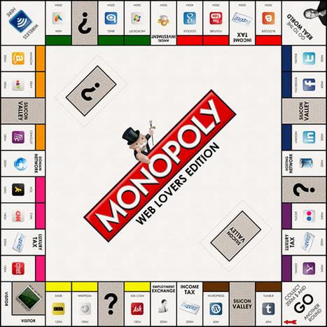 Le Monopoly du web existe c'est la Web Lovers Edition.   Sud34.com L'info du sud   Funny News   Scoop.it