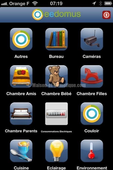 Eedomus a enfin son application iPhone ! | Maison et Domotique | Soho et e-House : Vie numérique familiale | Scoop.it
