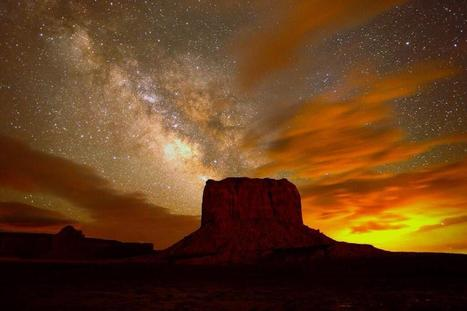 Breathtaking Astrophoto: Milky Way Over Monument Valley | Inspirational Photography to DHP | Scoop.it