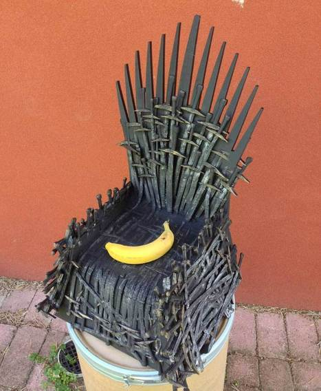 3D Printed Baby-Sized Iron Throne - 3D Printing Industry | 3D Printing Industry | Scoop.it