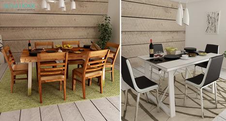 Buy Dining Table Online | Buy  Furniture Online | Online furniture | online furniture store | Scoop.it