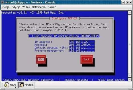 Sieć TCP/IP - Linux - Konsola | Konfiguracja sieci w systemie linux | Scoop.it