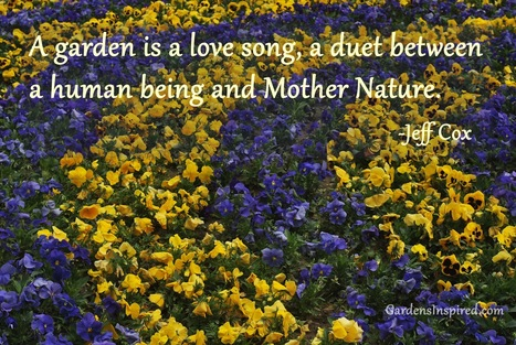 A garden quote from Jeff Cox | The Muse | Scoop.it