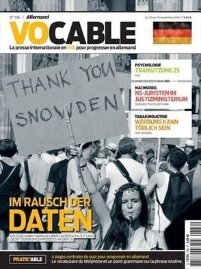 Vocable allemand n°736 - 10 novembre 2016   revue de presse cdi lycée sacré coeur   Scoop.it