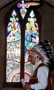 Stained Glass Window in Cdn Parliament Commemorates the Legacy of Residential Schools | Durham Catholic DSB Celebrates First Nation, Metis, and Inuit Perspectives, Culture, and People | Scoop.it